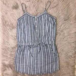 Aeropostale Stripe Down Mini Dress